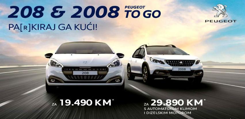 TO GO ponuda automobila koji su spremni da ih odvezete kući - Peugeot 208 & 2008