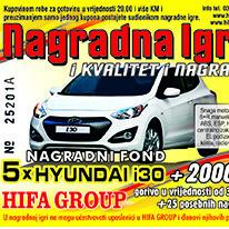 "Hifa Group: Nagradna igra ""I kvalitet i nagrada"""