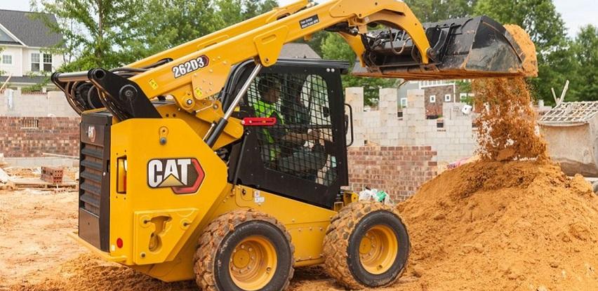 Teknoxgroup predstavlja CAT D3 seriju malih utovarivača