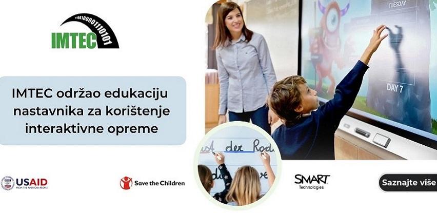 Imtec održao edukaciju nastavnika za korištenje interaktivne opreme