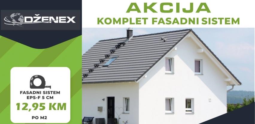 Akcijska ponuda komplet fasadnih sistema u Dženex-u
