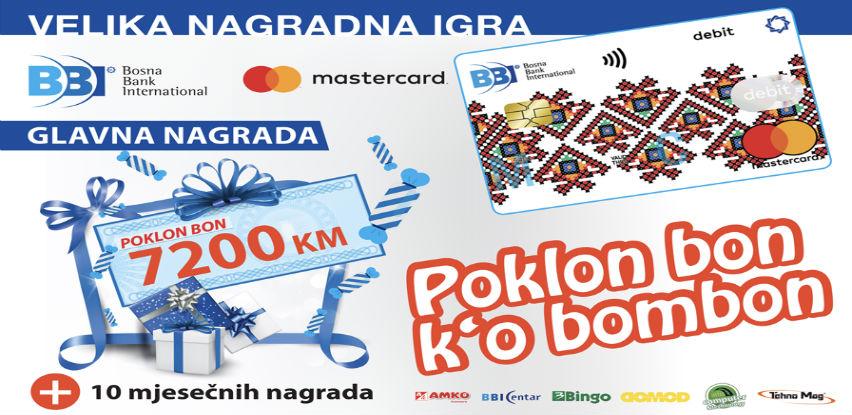 Plaćajte BBI Mastercard karticama i osvojite vrijedne nagrade