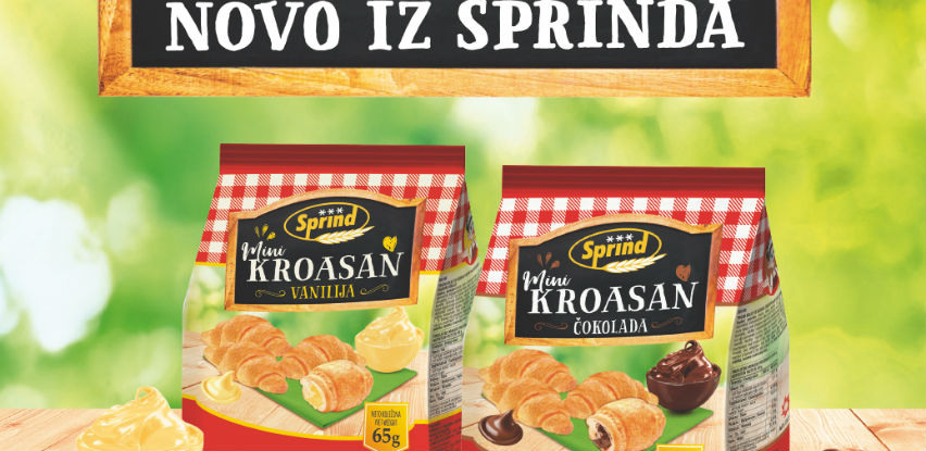 Novo iz Sprinda: Ukusni kroasani sa većom količinom punjenja