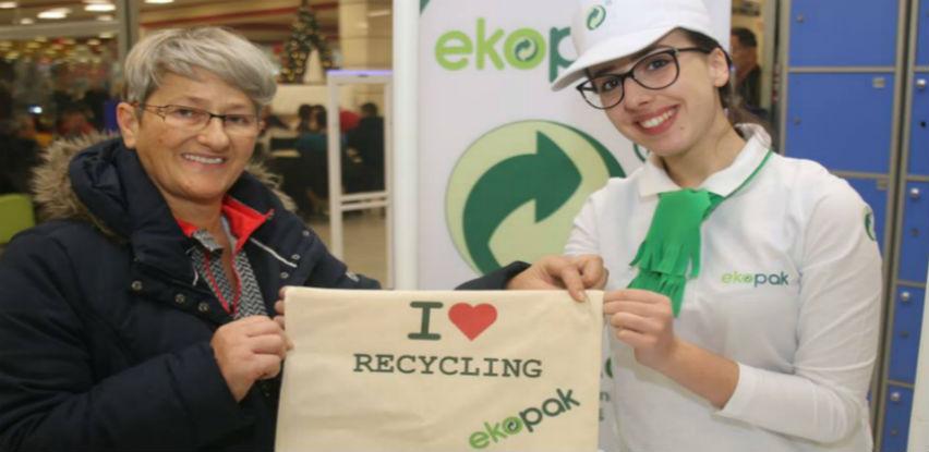 """Ekopak promotivna kampanja međunarodno zaštićenog znaka """"Zelena tačka"""""""