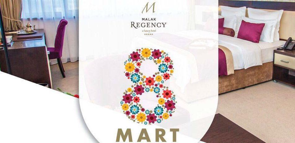 Specijalna ponuda za 8. Mart u Malak Regency Hotelu
