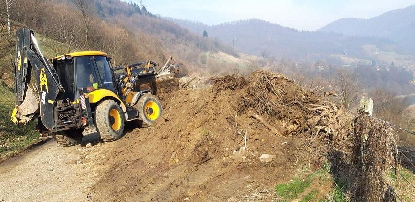 """JKP """" VISOKO"""" uspješno saniralo divlje deponije komunalog otpada"""