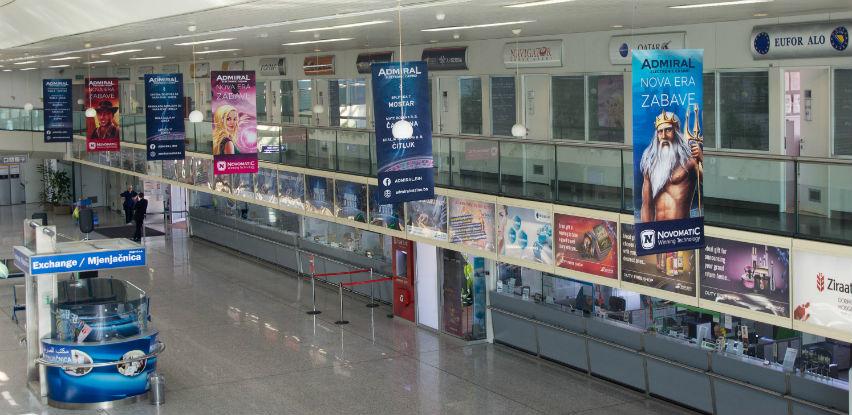 Međunarodni aerodrom Sarajevo - Prostori za ekonomsku propagandu