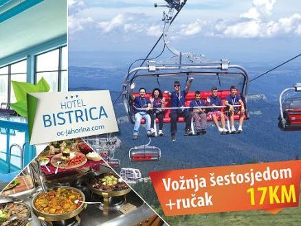 Panoramska vožnja žičarom počinje 18.06.2016. na Jahorini
