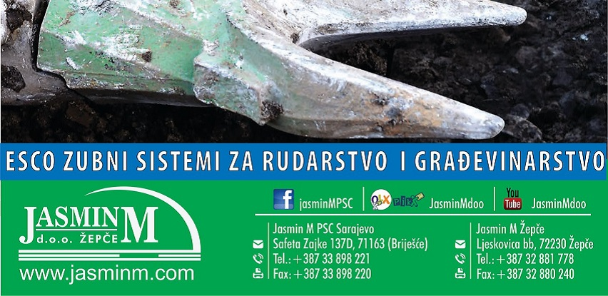 ESCO zubni sistemi za rudarstvo i građevinarstvo