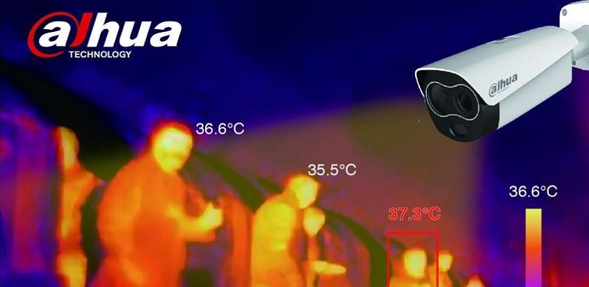 Dahua Technology rješenje za precizno beskontaktno mjerenje tjelesne temperature