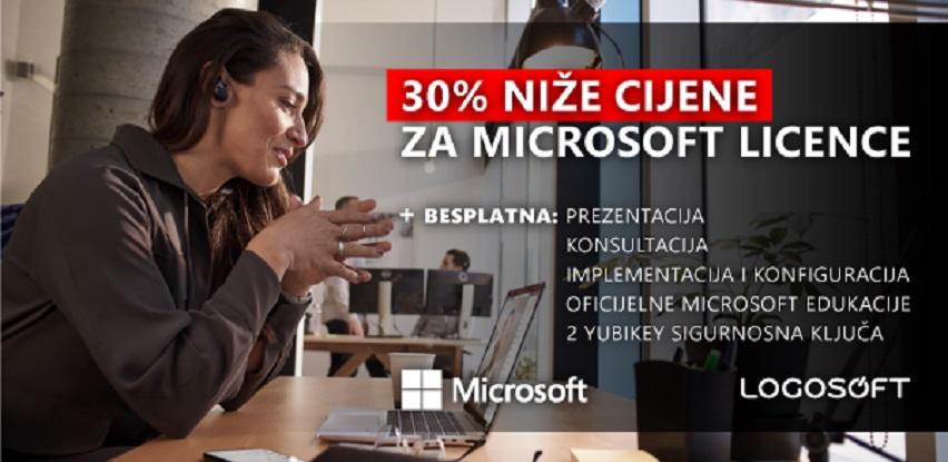 Logosoft omogućio vrhunske popuste: 30% niže cijene za Microsoft licence