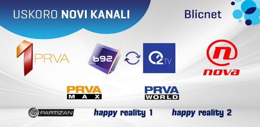 U Blicnetu Prva TV, B92, Nova TV i još novih TV kanala pred Novu godinu