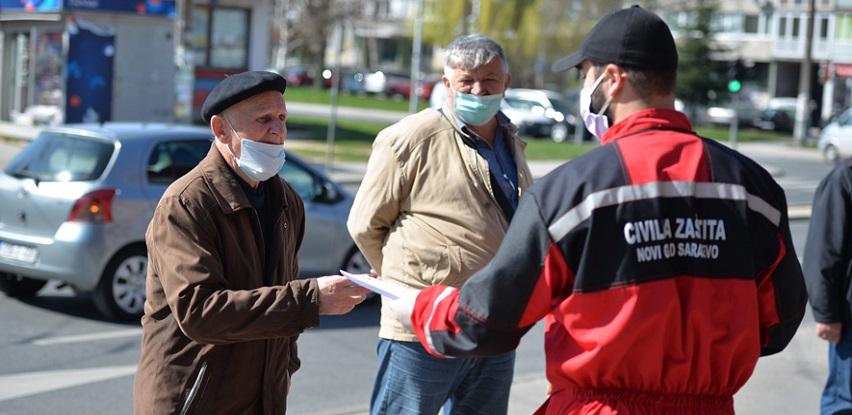 Služba civilne zaštite Općine Novi Grad penzionerima podijelila zaštitne maske