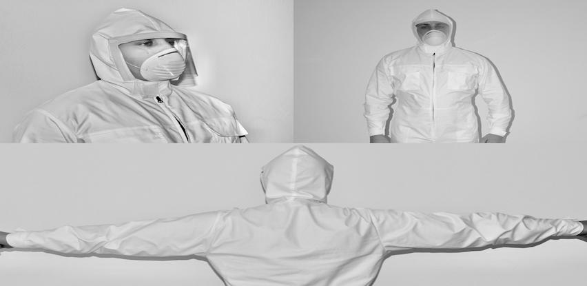 Zaštitna odjeća KOTEKS HEZO-03, HEZO-04 i jednokratne zaštitne maske za lice