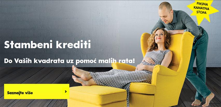 Stambeni krediti Raiffeisen banke uz fiksnu kamatnu stopu