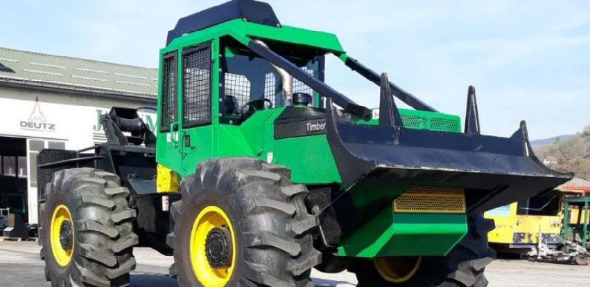 Sa Timberjack traktorima u šumarstvu sve je moguće!