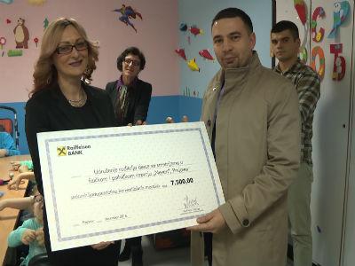 Donacijama od 45.000 KM Raiffeisen banka obilježila predstojeće praznike
