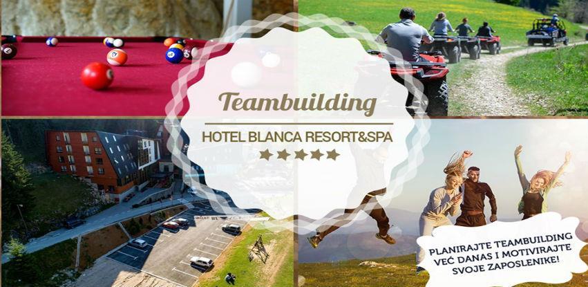 Teambuilding u hotelu Resort & Spa Blanca na Vlašiću