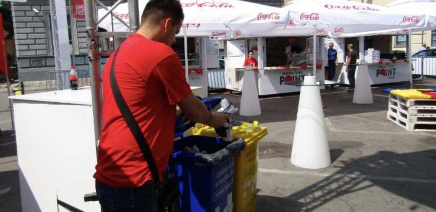 Za vrijeme Sarajevo Film Festivala-Ekopak organizovao eko-otoke na pet lokacija