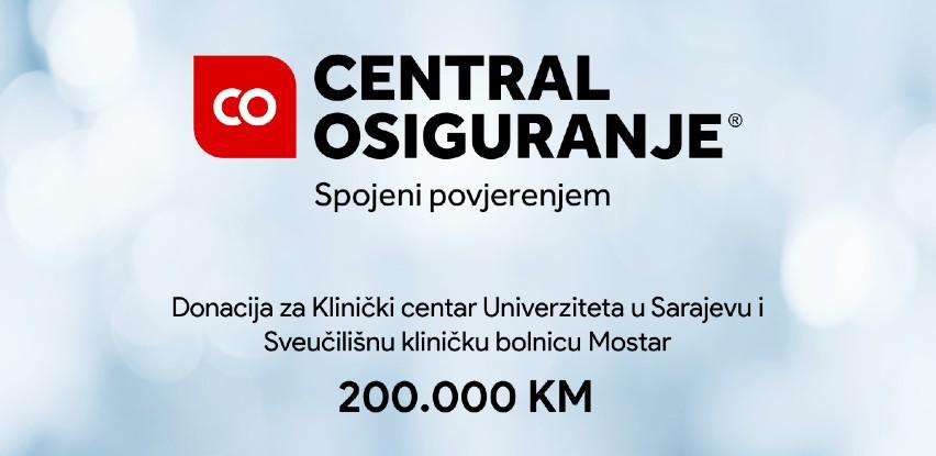 Donacije za UKC u Sarajevu i SKB u Mostaru