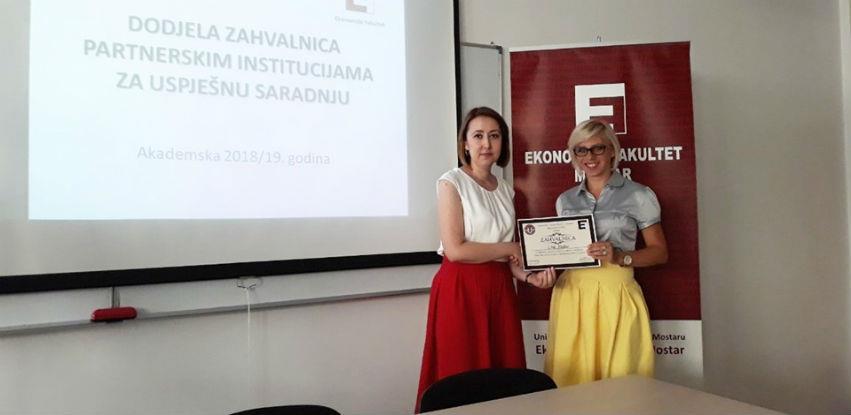 Link Mostar dobio još jednu zahvalnicu za uspješnu saradnju