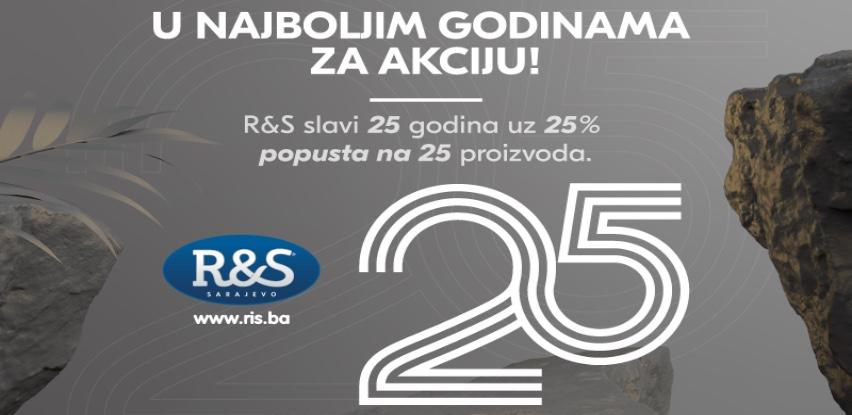 R&S Sarajevo slavi 25. rođendan uz 25% popusta na 25 proizvoda