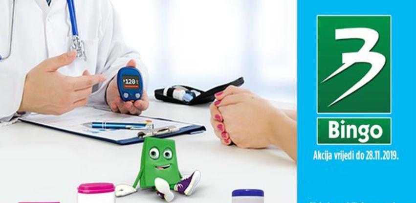 14. novembra u Bingo trgovinama besplatno izmjerite sećer u krvi!