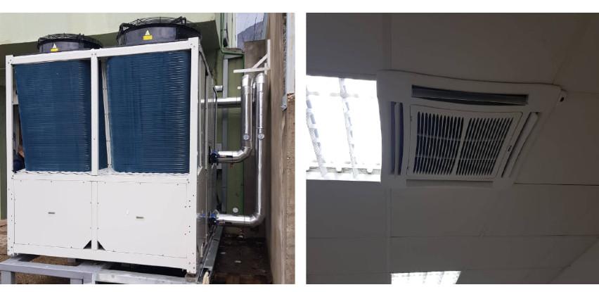 Sistem grijanja i hlađenja putem toplotne pumpe proizvođača YORK