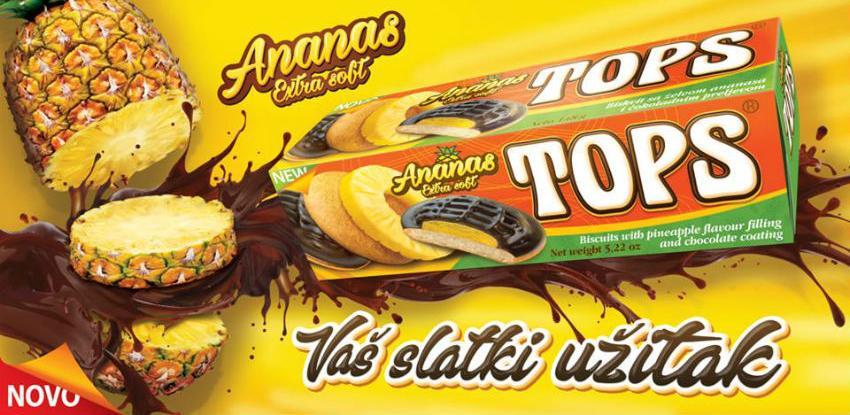 Novo na tržištu: Tops Ananas – naslađi okus ljeta!