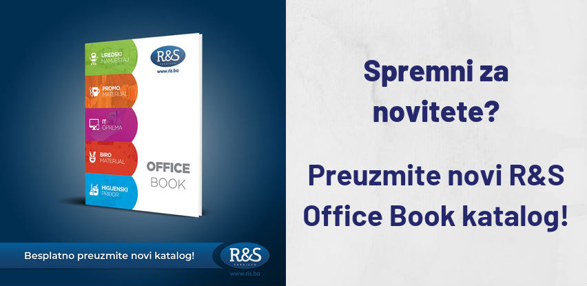 Spremni za novitete? R&S vam predstavlja novi Office Book katalog!