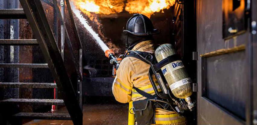 Teve Varnost na vašoj strani za vatrogasne službe