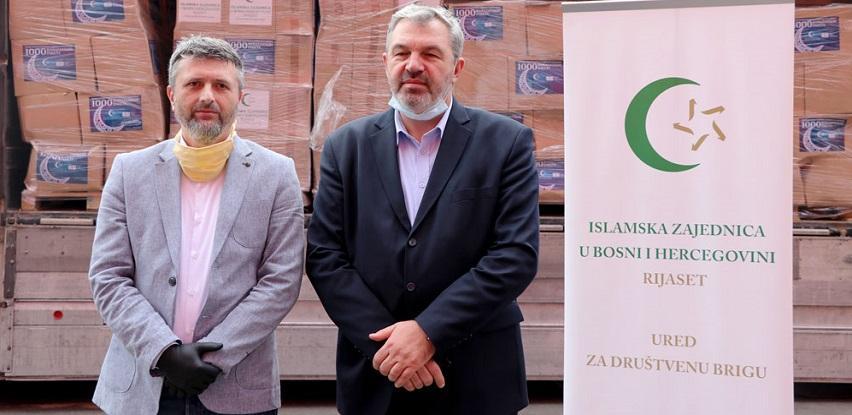 Rijaset IZ BiH i BBI banka: Hiljadu ramazanskih paketa za građane širom BiH