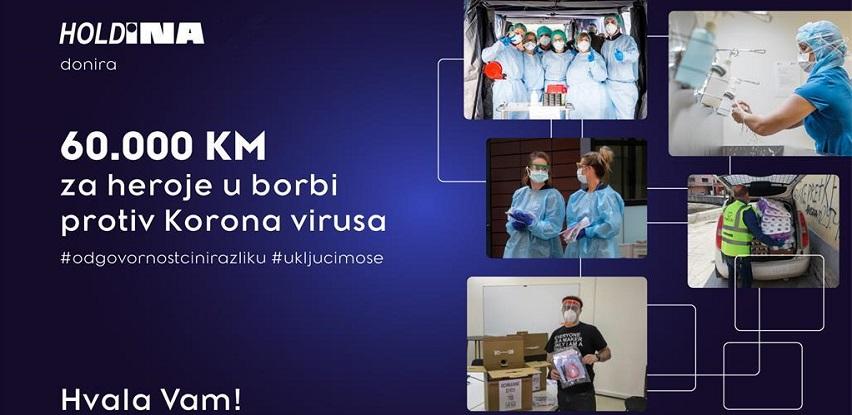 Holdina donirala zdravstvene ustanove i udruženja