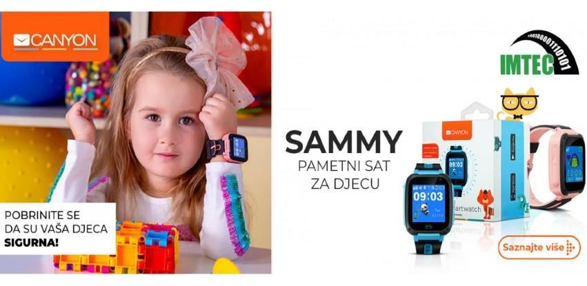 CANYON pametni sat za djecu Sammy: Pobrinite se da su Vaša djeca sigurna!