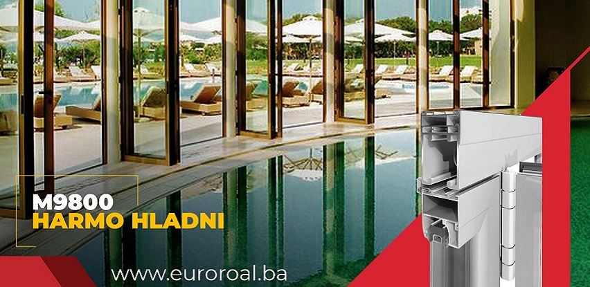 Spoj savršenog dizajna i estetike: Alumil sistemi Harmo Hladni M9800