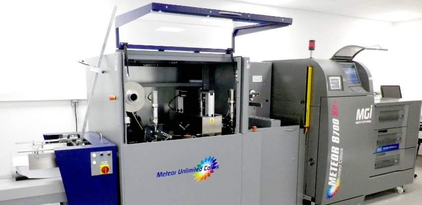 METEOR Unlimited Colors kombinuje printer sa vrhunskim foiling rješenjem