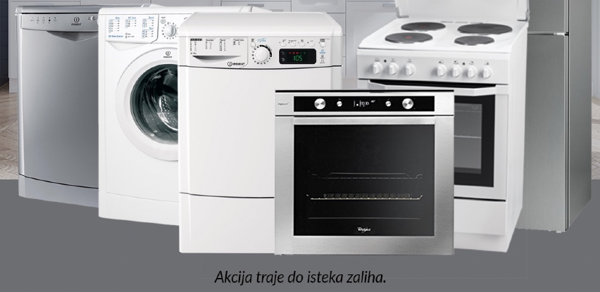 Akcija na izložbene aparate Indesit/Whirlpool asortimana do 25% u Domod-u