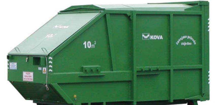 Hidraulični press kontejneri za prihvat komunalnog otpada