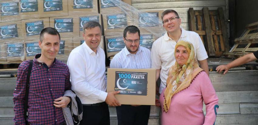 BBI banka sa partnerima nastavlja sa humanitarnom akcijom podjele paketa
