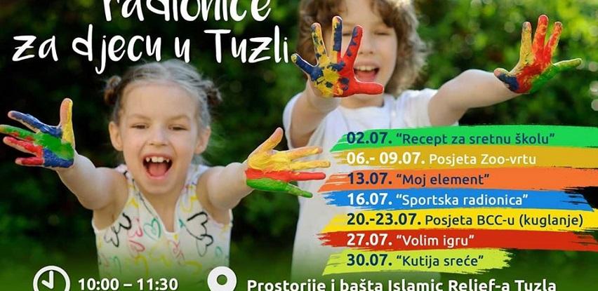 Besplatne kreativne radionice za djecu u Tuzli