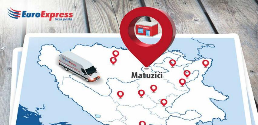 EuroExpress otvorio Paket shop na lokaciji Matuzići - Doboj jug
