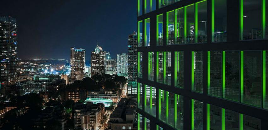 Schüco LightSkin LED rješenje koje je potpuno integrirano u profil
