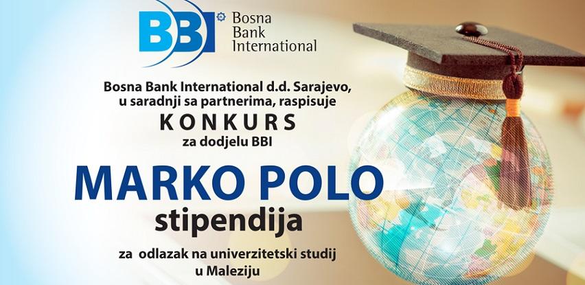 Konkurs za dodjelu BBI Marko Polo stipendija