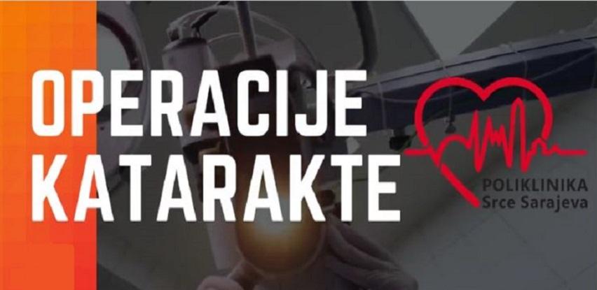 Operacije katarakte u Poliklinici Srce Sarajeva!
