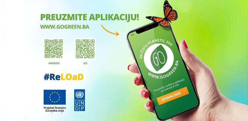 Go Green - aplikacija sa lokacijama kontejnera za odlaganje otpada
