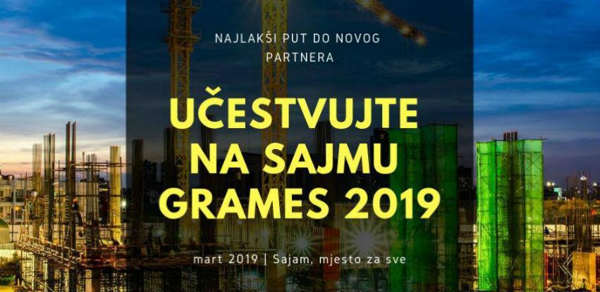 Najlakši put do novog partnera - Učestvujte na sajmu Grames 2019!