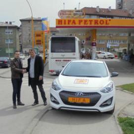 Hifa obradovala još jednog sretnog dobitnika vozilom Hyundai i30