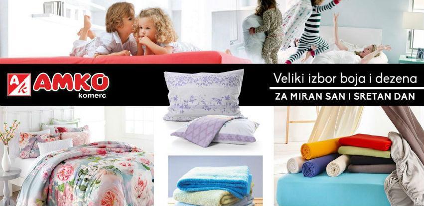 Veliki izbor boja i dezena - Za miran san i sretan dan!