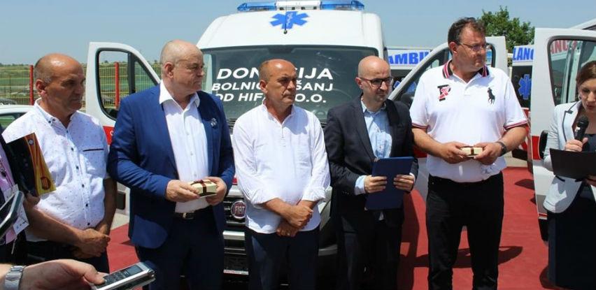 HIFA donirala vozilo za Opću bolnicu u Tešnju