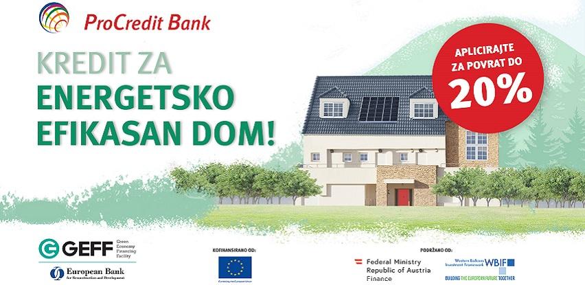 Jeftinije do energetski efikasnih domova uz poticaj do 20% investicije